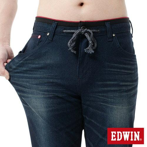【2000元優惠↘】EDWIN JERSEYS雙色迦績AB褲-男-寶石藍 3