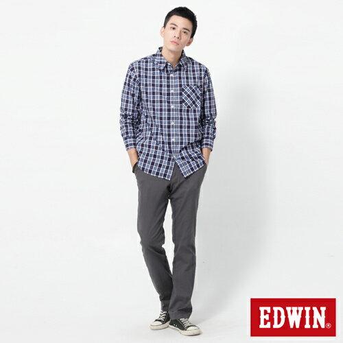 【990元優惠↘】EDWIN 503 KHAKI西裝式長褲-男-灰色 2