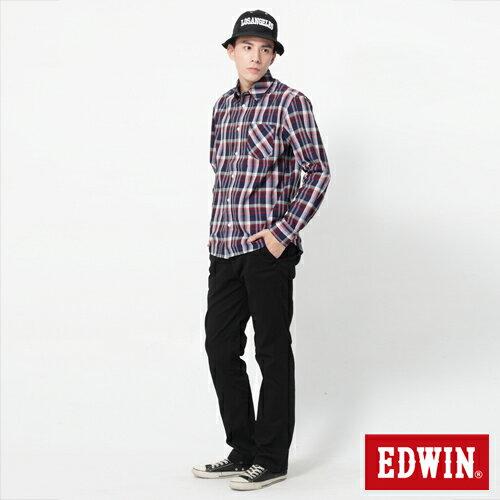 【990元優惠↘】EDWIN 503 KHAKI西裝式長褲-男-黑色 2