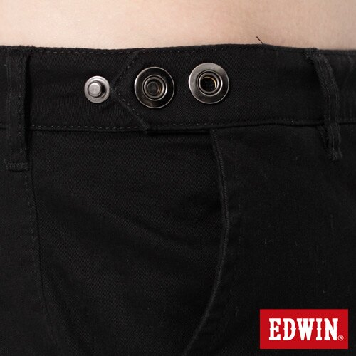 【990元優惠↘】EDWIN 503 KHAKI西裝式長褲-男-黑色 3