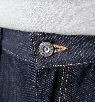 【獨家款式。990元特惠↘】【超大尺碼 】EDWIN 503 REBEL 基本五袋直筒褲-男款 原藍色 1