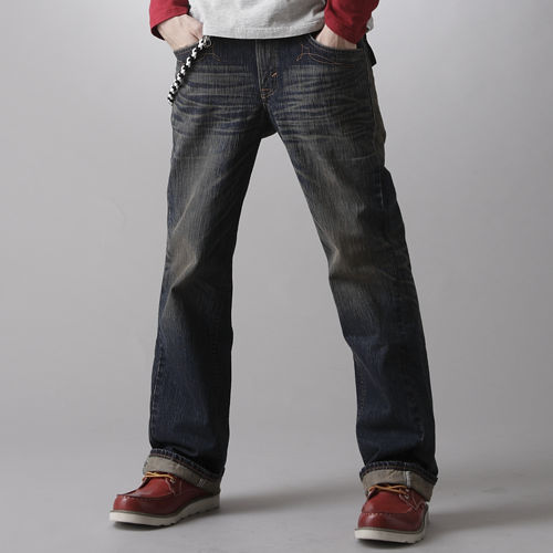 【SUPER SALE。熱銷丹寧888↘】EDWIN XV 袋蓋靴型牛仔褲-男款 中古藍【結帳輸入SS_20161210→現折100元】 0