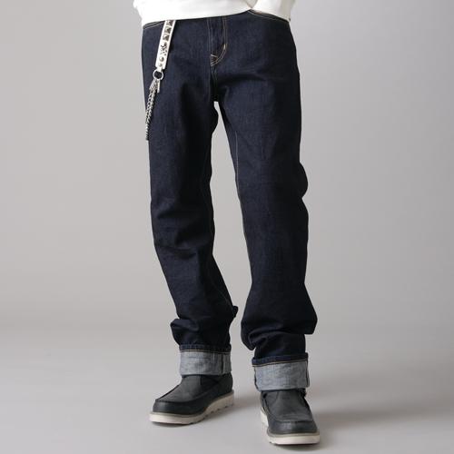 【獨家款式。990元特惠↘】EDWIN 505 ZX 直筒牛仔褲-男款 原藍色 0