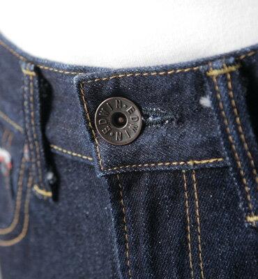 【獨家款式。990元特惠↘】EDWIN 505 ZX 直筒牛仔褲-男款 原藍色 1