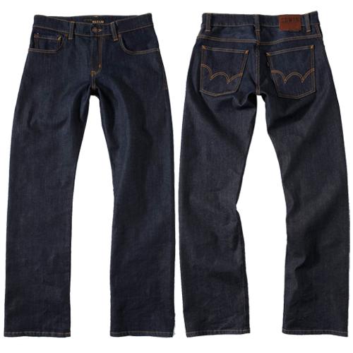【獨家款式。990元特惠↘】【大尺碼】EDWIN 503 ZERO 直筒褲-男款 原藍 1