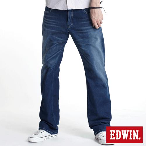 【990元優惠↘】EDWIN 503 ZERO COOL 直筒褲 酵洗藍 0