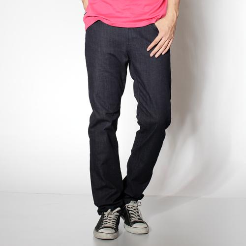 【5折優惠↘】【超大尺碼】EDWIN 503 BASIC 休閒雅痞 基本款直筒褲-男款 原藍色 0