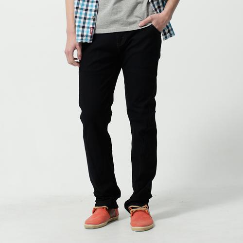 【2000元優惠↘】【全新進化3D剪裁】EDWIN JERSEYS針織迦績3D褲-男款 原藍色 0