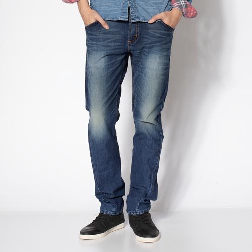 【2000元優惠↘】【全新進化3D剪裁】EDWIN JERSEYS針織迦績3D褲-男 石洗綠 0