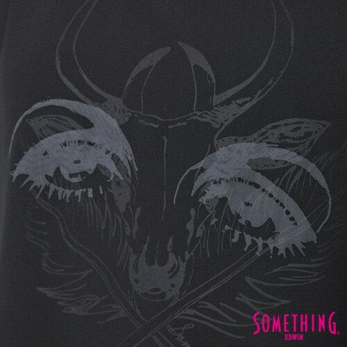 【9折優惠↘】SOMETHING 異素材雙層 不規則T恤-女款 黑色 4