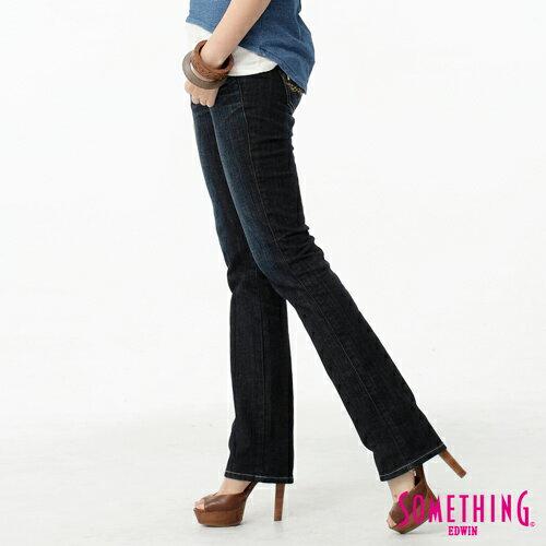 【1290元優惠↘】SOMETHING Vienus V.hip系列提臀直筒牛仔褲-水洗深藍色 0
