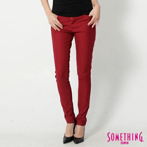 【5折優惠↘】SOMETHING MEIDUSA鬆緊修身 高腰牛仔褲 -女款 紅色 0