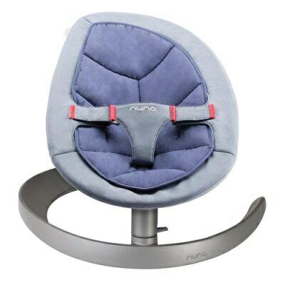 【贈Borny涼感被】荷蘭【Nuna】Leaf Curv搖搖椅(藍) 1