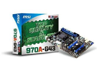 「YEs 3C」全新 MSI 微星 970A-G43 主機板 AMD 970 / SB950 AM3+ U3S6 免運 yes3c