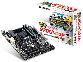 「YEs 3C」全新 GIGABYTE 技嘉 GA-970A-D3P 主機板 AM3+ 插槽 U3S3 數位供電設計 免運 yes3c