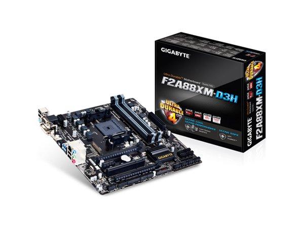 「YEs 3C」全新 GIGABYTE 技嘉 GA-F2A88XM-D3H 主機板 AMD A88X U3S6 FM2+ M-ATX 免運 yes3c 10ne