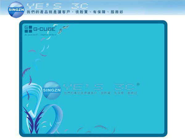 「YEs 3C」G-Cube GME-20W 魔幻系列 藍色天使 MOUSE PAD 鼠墊 含稅 免運 7en  yes3c