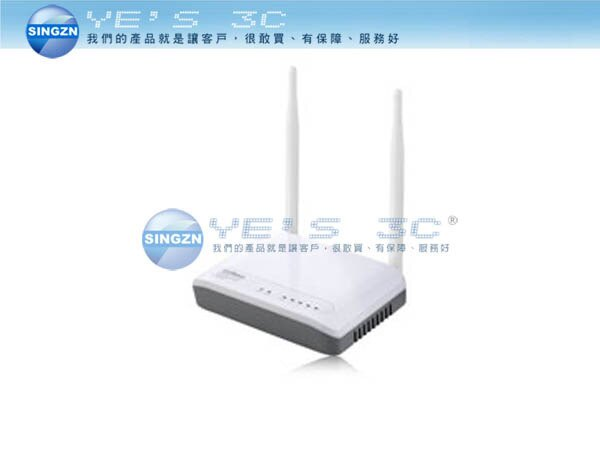 「YEs 3C」全新 EDIMAX 訊舟 BR-6428nS 802.11n 無線網路寬頻分享器 省電66% 雙天線  yes3c