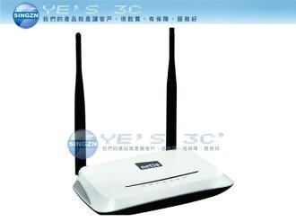 「YEs 3C」全新 Netis WF2419 300M 11n無線寬頻分享器 白極光無線寬頻分享器 有發票 4ne