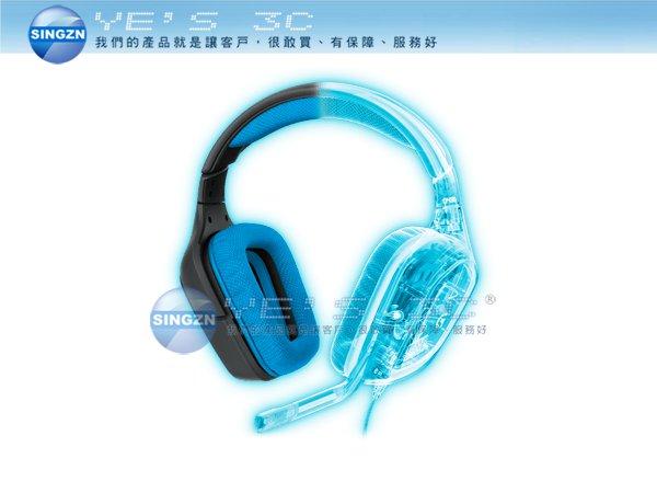 「YEs 3C」全新 LOGITECH 羅技 G430 遊戲耳機麥克風 電競 環繞音效 線控 USB DOLBY 有發票 免運 10ne yes3c