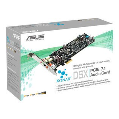 「YEs 3C」全新 ASUS 華碩 XONAR DSX (ASM) 7.1聲道 音效卡 PCI-E 含稅 免運 yes3c 11ne
