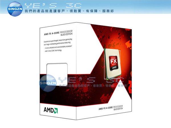 「YEs 3C」全新 AMD 超微 FX-4300 FX4300 四核心 中央處理器 3.8G 95W 打樁機 CPU yes3c