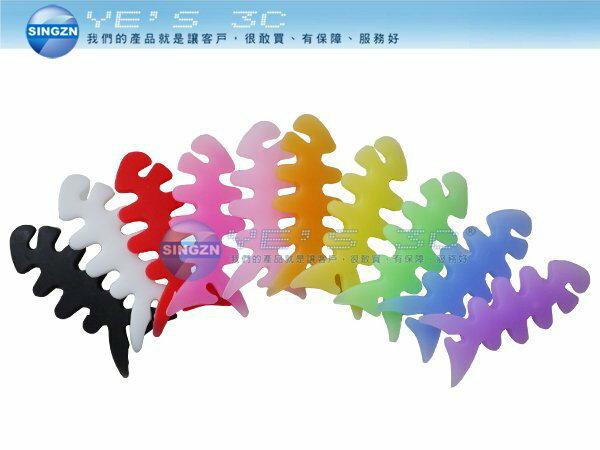 「YEs 3C」耳機便利收線器 耳機 便利線 厚魚骨造型 收線器(VYCCFISH100) yes3c 4ne