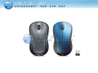 「YEs 3C」LOGITECH 羅技 M310t 無線滑鼠 2.4G 超小型接收器 銀黑/藍 免運 5ne