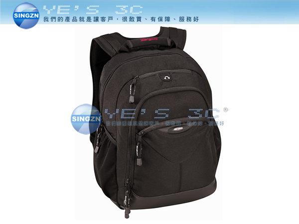 「YEs 3C」Targus 泰格斯 TSB038AP 15.4吋 輕便休閒電腦包/筆電包/後背包 黑色