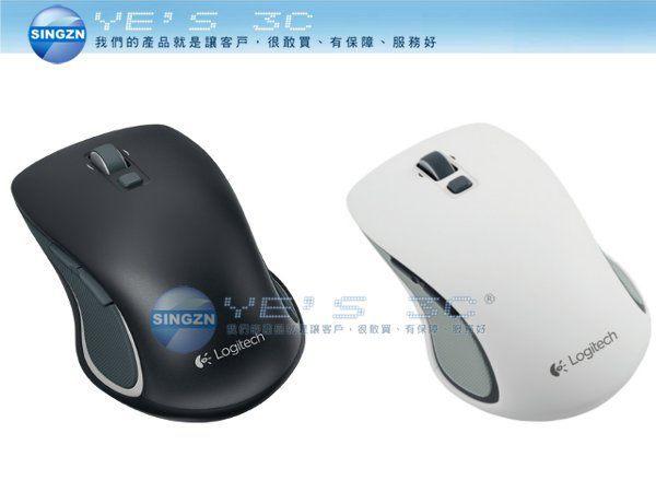 「YEs 3C」全新 LOGITECH 羅技 M560 無線滑鼠 黑/白 左右手 2.4 GHz Unifying 接收器  有發票 免運 yes3c 2ne