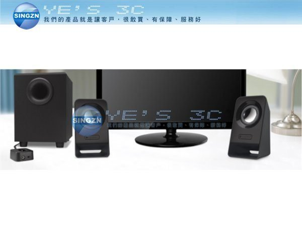 「YEs 3C」全新 羅技 Logitech Multimedia Speakers Z213 低音飽滿 設計精巧 免運 8ne