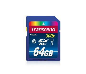 「YEs 3C」全新 Transcend 創見★ 300X UHS-I 64G SDXC SDHC class 10 CL10 class10 記憶卡 有發票 免運 yes3c 11ne