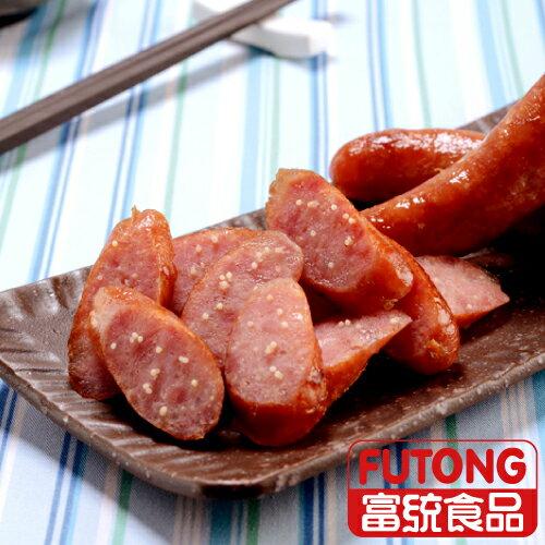 【富統食品】烤肉趣 - 飛魚卵香腸 (250g/包;5條入)
