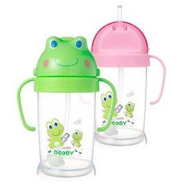 『121婦嬰用品館』大眼蛙 卡通神奇喝水杯 250ml - 綠 0