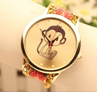 Promo Kecantikan dan Kosmetik Rakuten - geneva handmade watch monkey motif