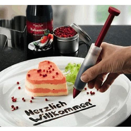 【N13070403】矽膠巧克力筆 裝飾擠醬筆 紫菜包飯飯糰裱花筆 蛋糕寫字筆