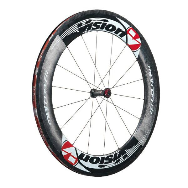 【7號公園自行車】 Vision Metron 81輪組 OPEN胎版