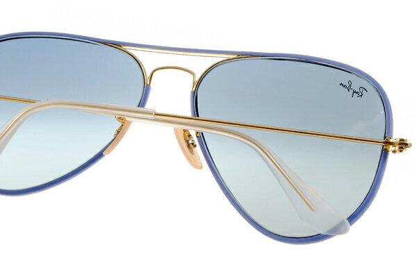 Ray Ban 雷朋  藍色金邊 RB3025JM 太陽眼鏡 5
