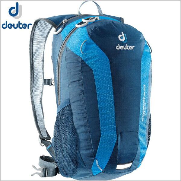 【露營趣】中和 送贈品 德國 deuter Speed Lite 15L 超輕量旅遊背包 登山背包 攻頂包 自行車背包 33111