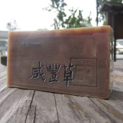 阿原肥皂---天然手工肥皂---咸豐草皂100g