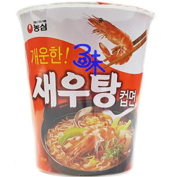 (韓國) 農心 鮮蝦杯麵 1碗 62 公克 特價 40 元 【8801043015776 】