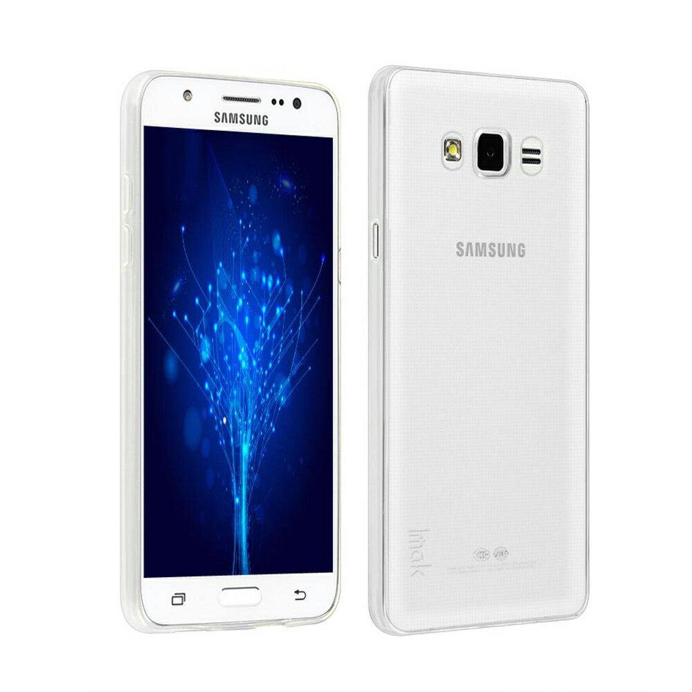 Samsung Galaxy J7 高質感雙料材質 透明TPU+PC手機殼/保護套 0