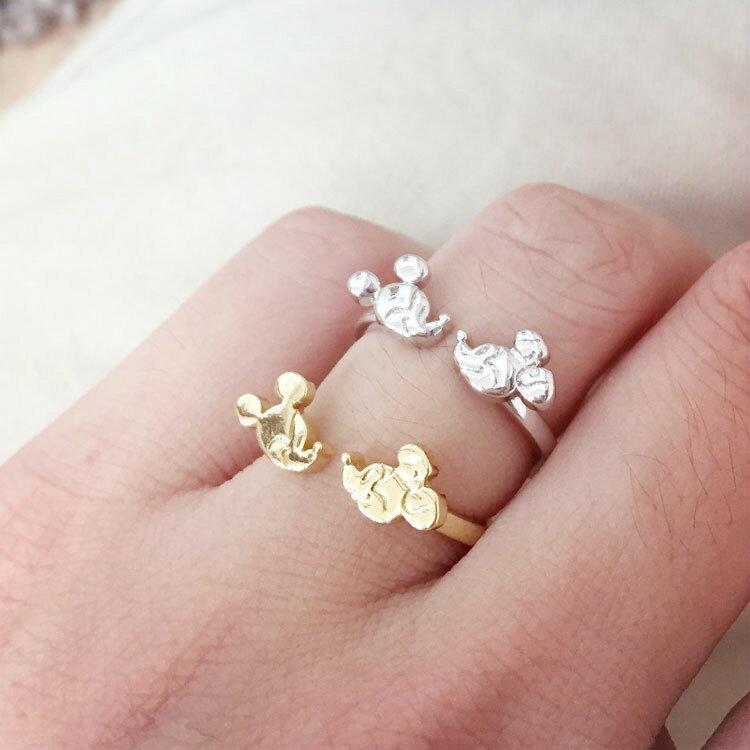 PGS7 ^(  ^) 迪士尼系列 ~ 迪士尼 米奇米妮 對嘴 戒指 指環