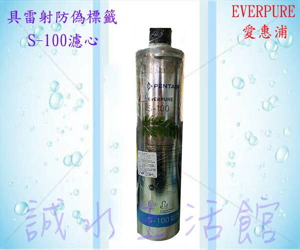 [全省免運費]Everpure 愛惠浦S100/S-100濾心(公司貨)-具雷射防偽標籤