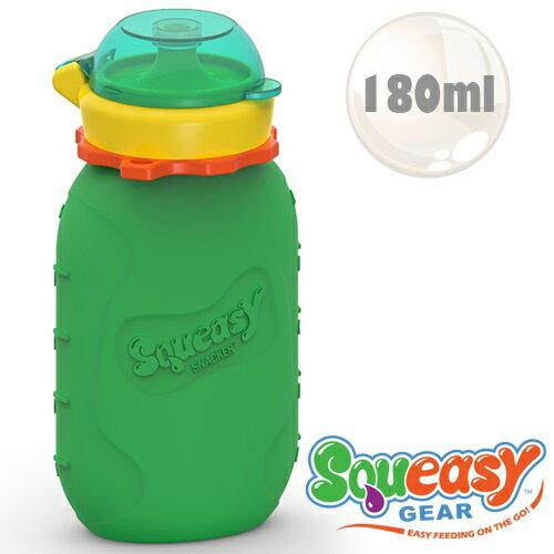 美國【Squeasy】QQ隨身瓶-180ml 綠色 0