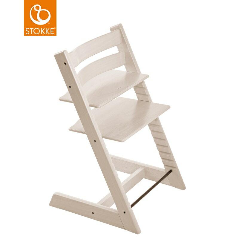 挪威【Stokke】Tripp Trapp 成長椅-水洗白 - 限時優惠好康折扣