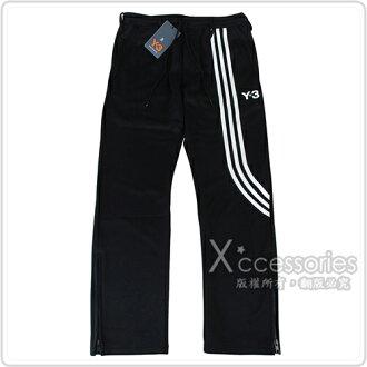 adidas Y-3時尚潮流品牌運動休閒褲(黑)