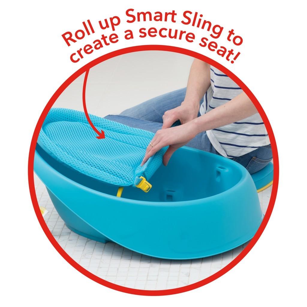 美國【Skip Hop】Moby 鯨魚三階段成長浴盆 2