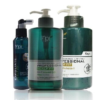 Keyra 奇拉 毛囊淨化液 150mL+平衡洗髮精 1000ml+頭皮敷髮泥500ml