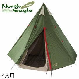 露營 帳篷   North Eagle 日本   金牌TC印地安帳300   秀山莊(NE178)